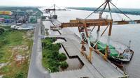 Pelindo III Perpanjang Dermaga Pelabuhan Bagendang (dok: Humas Pelindo III)