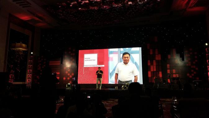 Ririek Adriansyah, Direktur Utama Telkomsel. Liputan6.com/Iskandar