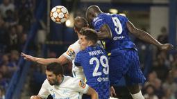 Berlaga di Stamford Bridge, The Blues berhasil meraih tiga poin lewat gol semata wayang bomber asal Belgia, Romelu Lukaku. (Foto:AP/Kirsty Wigglesworth)