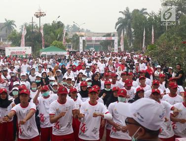 3 BUMN Gelar Jalan Sehat di Mempawah Kalimantan Barat