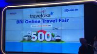 BRI Online Travel Fair (Foto:Liputan6.com/Athika R)