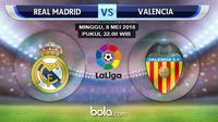 Real Madrid vs Valencia (bola.com/Rudi Riana)