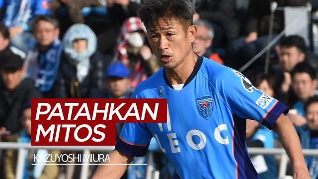 Berita video Kazuyoshi Miura, yang sering dijuluki King Kazu, merupakan pesepak bola yang terbukti bisa mematahkan salah satu mitos dalam sepak bola.