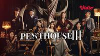 Drama Korea The Penthouse 3 kini hadir di layanan streaming Vidio. (Dok. Vidio)