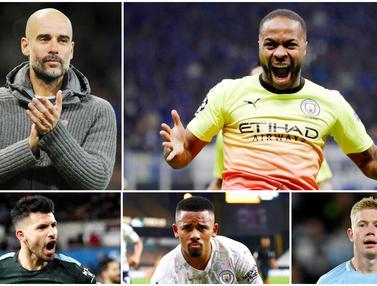 FOTO: 5 Pencetak Gol Terbanyak Manchester City di Era Pep Guardiola