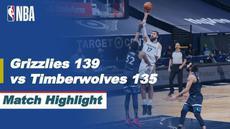 Berita video highlight NBA, Memphis Grizzlies Permalukan Tuan Rumah Minnesota Timberwolves Dikandangnya 139-135, Kamis (6/5/2021).