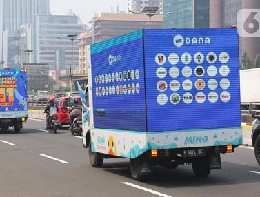 Jelang 11.11, DANA Konvoi di Jalanan Ibu Kota