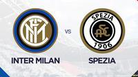 Liga Italia: Inter Milan Vs Spezia. (Bola.com/Dody Iryawan)