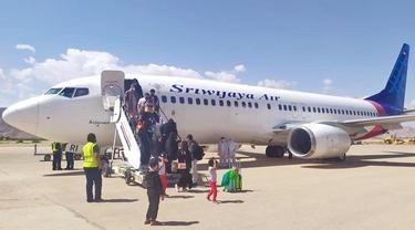 Pesawat Sriwijaya Air. (Foto: Instagram @sriwijayaair)