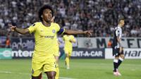 7. Willian (Chelsea) - 1 Gol. (AP/Thanassis Stavrakis)