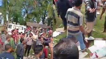 Viral Video Warga di Aceh Barat Daya Mengamuk Bubarkan Paksa Vaksinasi Covid-19