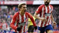 5. Antoine Griezmann (Atletico Madrid) - 16 Gol (1 Penalti). (AFP/Pierre-Philippe Marcou)