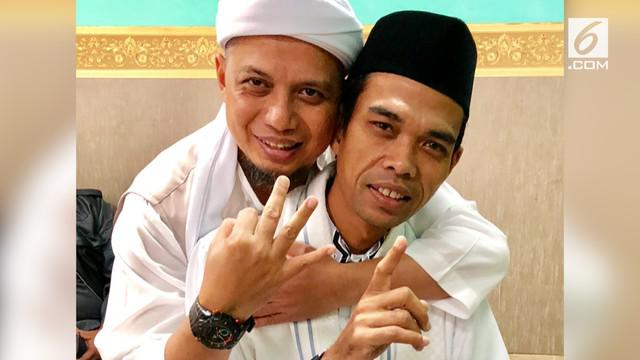 Ustaz Arifin Ilham secara khusus meminta Ustaz Abdul Somad untuk menerima rekomendasi Ijtimak ulama yang menjadikannya Cawapres Prabowo Subianto.