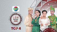 LIDA 2020 Top 4, tayang lebih awal, Rabu (23/9/2020) pukul 19.30 WIB live di Indosiar
