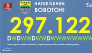 Persib Bandung mencatatkan rekor fantastis di TSC 2016 berkat kehadiran bobotoh. (Labbola)