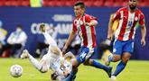 Argentina melanjutkan tren positif mereka di Copa America 2021 usai menundukkan Paraguay dengan skor tipis 1-0 pada laga Grup A yang digelar di Estadio Nacional de Brasilia, Selasa (22/6/2021).
