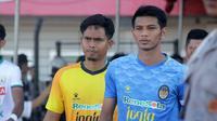 Kapten PSIM, Hendika Arga Permana, dibidik PSS. (Bola.com/Ronald Seger Prabowo)
