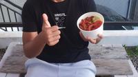 Bek Borneo FC, Wildansyah. (Bola.com/Permana Kusumadijaya)