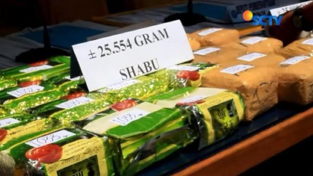 BNN berhasil memgungkap peredaran narkoba dari Malaysia yang akan diedarkan ke Sumatera dan Jawa.