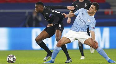 FOTO: Manchester City Masih Terlalu Tangguh Bagi Borussia Moenchengladbach