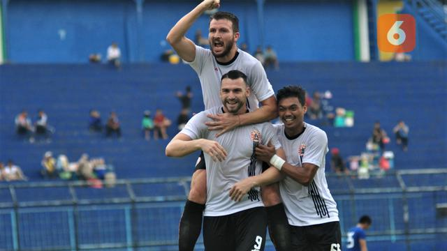 Marko Simic, Marco Motta, Alfath Faathier, Persija Jakarta, Piala Gubernur Jatim 2020
