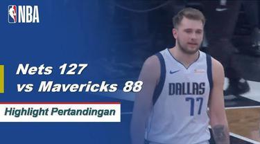 DeMarre Carroll memimpin dengan 22 poin dan 5 rebound untuk Nets saat mereka menang besar atas Dallas
