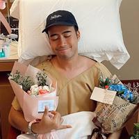 Potret Kondisi Terbaru Vidi Aldiano Usai Operasi Pengangkatan Kanker Ginjal (sumber: instagram/vidialdiano)