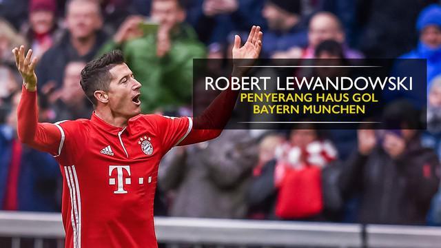 Berita video motion grafis bukti striker Bayern Munchen, Robert Lewandowski, sebagai pemain berbahaya bagi pertahanan lawan dalam 6 musim.
