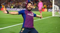 3. Luis Suarez (Barcelona) -  21 Gol. (AFP/Josep Lago)