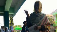Hadasari, warga Jalan Borong Jambu, Manggala Makassar mengaku nabi. (Facebook Nur Hidayah Qalby)