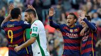 Barcelona vs Granada (AFP/Lluis Gene)