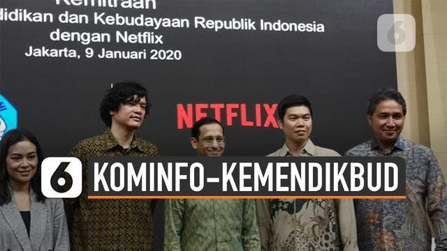 Netflix santer diperbincangkan di media sosial. Pasalnya Kominfo dan Kemdikbud punya sikap berbeda.