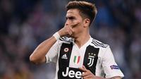 2. Paulo Dybala (Juventus) - 3 Gol. (AFP/Marco Bertorello)