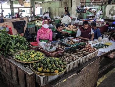 FOTO: Relokasi Pedagang Pasar Minggu Pasca Kebakaran