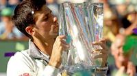 Novak Djokovic (MATTHEW STOCKMAN/AFP)