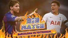 Berita Video Barcelona Vs Tottenham Hotspur, Partai Hidup Mati Dele Alli dkk