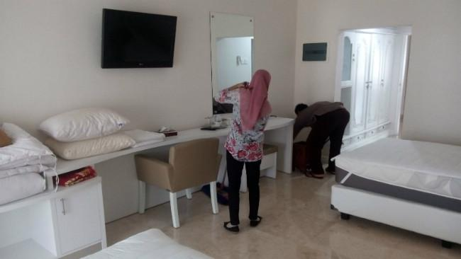 Fasilitas Mewah Ruang Tamu Istana Kepresidenan Yogyakarta. (Liputan6.com/Yanuar H)