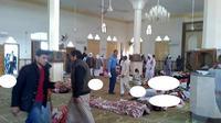 Jumlah korban tewas serangan bom di Masjid Mesir jadi 235 orang (AFP)