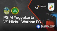 Liga 2 : PSIM Yogyakarta vs Hizbul Wathan FC