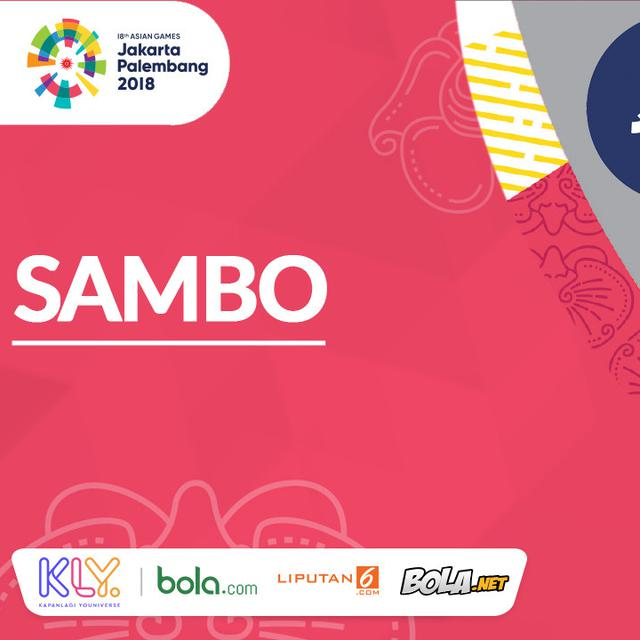 Cabor Baru Di Asian Games 2018 Sambo Asian Games Bola Com