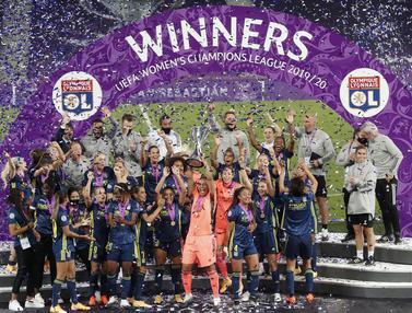 Luar Biasa, Lyon Juara Liga Champions 5 Kali Beruntun
