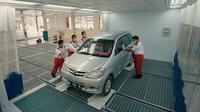 Body & Paint (BP) Auto2000 adalah layanan untuk mobil Toyota yang ingin memperbaiki jika ada penyok(auto2000)