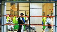 Jemaah haji Indonesia di Makkah, Arab Saudi. Bahauddin/MCH