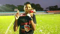 Septian Satria Bagaskara, top scorer Liga 3 2018. (Bola.com/Vincentius Atmaja)