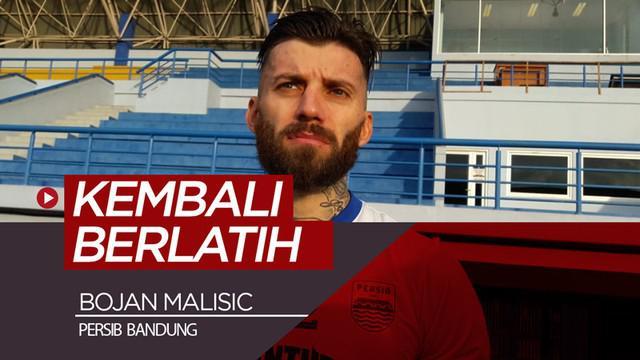 Berita video bek Persib Bandung, Bojan Malisic, mengaku tidak banyak berlatih saat berada di Serbia.