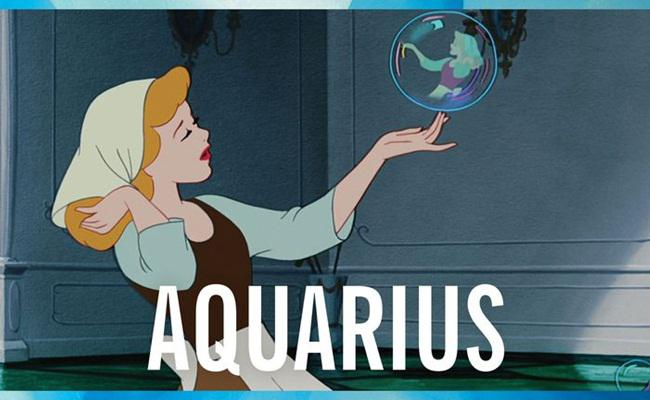 Cinderella sebagai Aquarius/copyright cosmopolitan.com