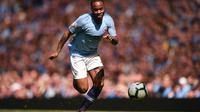 5. Raheem Sterling (Man City) - 17 gol dan 9 assist (AFP/Oli Scarff)