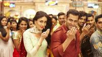 Salman Khan dan Kareena Kapoor dalam salah satu adegan di film Bajrangi Bhaijaan