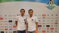 Pelatih Bali United Widodo Cahyono Putro (kanan). (Dewi Divianta)