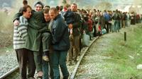 6 Daftar 'Salah Sasaran' AS Selama Perang. Serangan Kereta Pengungsi Albania (AFP)